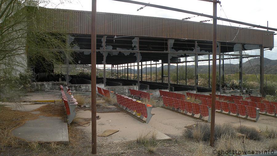 outdoor grandstands